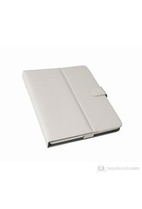 """Mobee 9"""" Beyaz Ayaklı Tablet Kılıfı"""