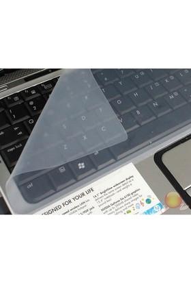Microsonic Laptop Klavye Koruyucu Şeffaf Silikon Kılıf KP101