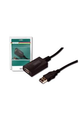 Digitus USB Repeater Kablosu 5M USB 2.0 DA-70130-3