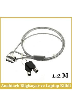 Ti-Mesh Anahtarlı Bilgisayar Ve Laptop Kilidi - 1,2M