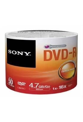 Sony DVD -R 16X 50'li Spindle