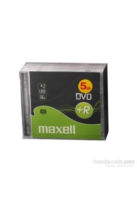 Dvd+R 5Li Maxell Kalın Kutulu 4.7Gb 120Mın 16X
