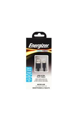 Energizer C21ubmcgbk4 1.2M Flat Micro Siyah Usb Kablosu