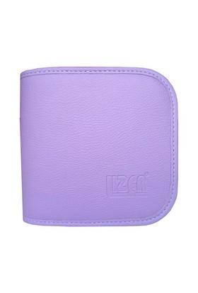 Lizer PLC24-3 24lü Lila Renkli Deri CD Çantası