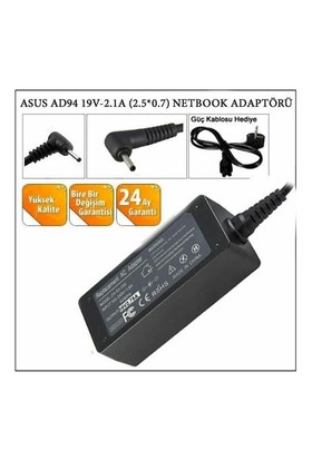 Versatil Asus Ad94 19V-2.1A (2.5*0.7) Netbook Adaptörü
