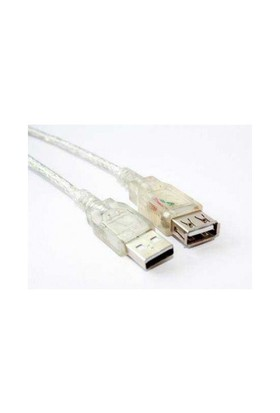Flaxes FUZ-01 USB 2.0 1.5m %100 Bakır Askılı Uzatma Kablosu