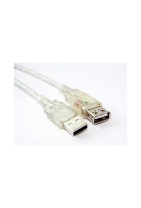 Flaxes FUZ-03 USB 2.0 3m Bakır Uzatma Kablosu