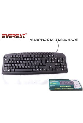 Everest Kb-628P Siyah Ps/2 Multi Media Q Klavye
