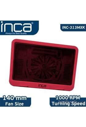Inca INC-313MXK Hi-Speed Kırmızı Notebook Soğutucu
