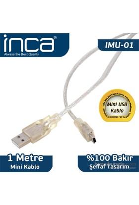 Inca IMU-01 USB to Mini USB 2.0 1MT Kablo (Blister)