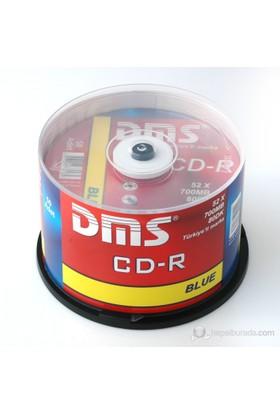 DMS CD-R 52X 700MB 50li Cakebox 10DMS101CL