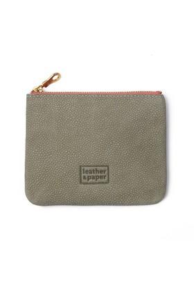 Leather&Paper Yeşil Deri Mini Çanta