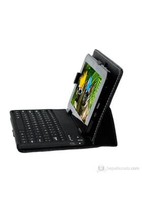 "Mobee 7"" Bluetooth Klavyeli Siyah Tablet Kılıfı"