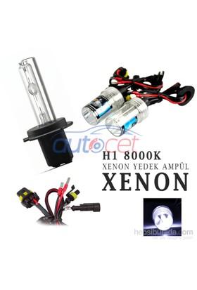 AutoCet H1 8000K Xenon Yedek Ampulü 2920a