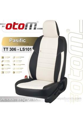 Otom V.W. Touran 5 Kişi Sport 2004-2009 Pasific Design Araca Özel Deri Koltuk Kılıfı Kırık Beyaz-101