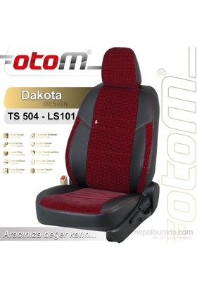 Otom V.W. Polo 2002-2009 Dakota Design Araca Özel Deri Koltuk Kılıfı Füme-102