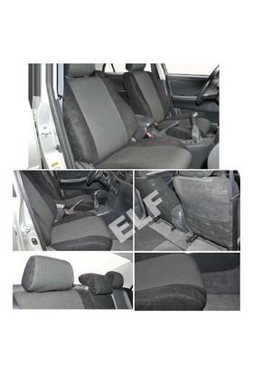 Z tech Citroen C4 2011 ve sonrası Siyah renk Araca özel Oto Koltuk Kılıfı