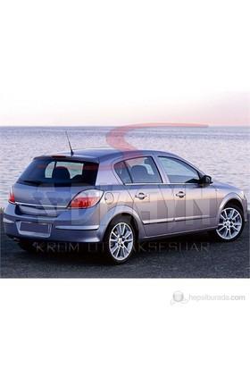 S-Dizayn Opel Astra H Cam Çıtası 4 Prç. P.Çelik HB (2004>)