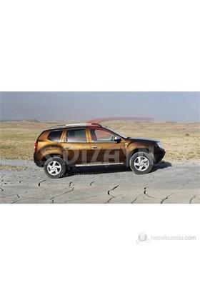S-Dizayn Dacia Duster Cam Çıtası 4 Prç. P.Çelik (2009>)