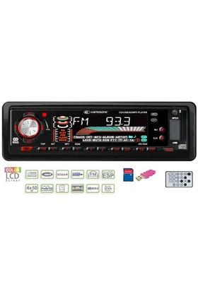 Kamosonic KS-5064 CD-SD MMC-USB-ESP-MP3 Çalar