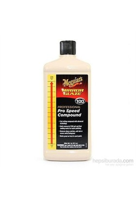 Meguiars 100 Pro Speed Compound Çizik Giderici Pasta