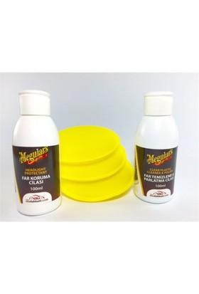 Meguiars Plastx + Headlight Protectant Far Parlatıcı+Koruma