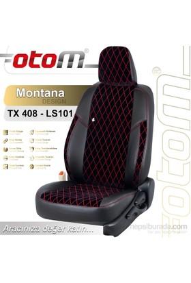 Otom Tofaş Doğan Slx 1993-2000 Montana Design Araca Özel Deri Koltuk Kılıfı Kırmızı-109