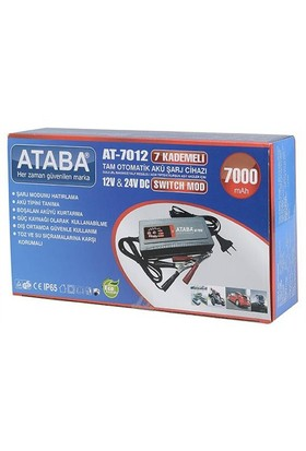 Ataba At-7012 12-24V 7000Mah Kademeli
