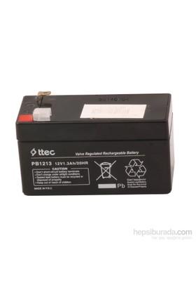 Ttec Plus 12V 1.3Ah Bakımsız Kuru Akü