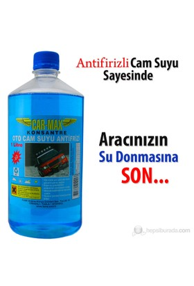 Car-Max Oto Cam Suyu -40 Antifirizli 1 Lt