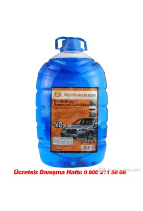 HB Antifrizli ve Şampuanlı Cam Suyu 5 LT