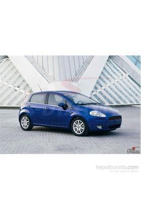 S-Dizayn Fiat Grande Punto Cam Çıtası 6 Prç. P.Çelik (2006>)