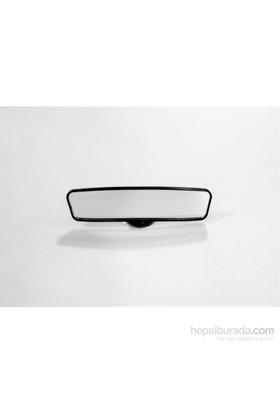 Space Vantuzlu İç İlave Ayna / 24Cm / Siyah