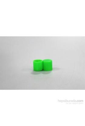 Space Bijon Kılıfı / Silikonlu 17Mm 20'Li / Yeşil