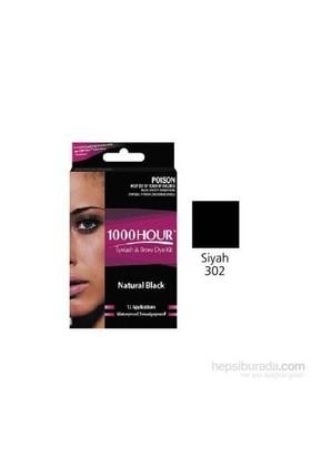 1000 Hour Kaş Kirpik Boyası - Siyah