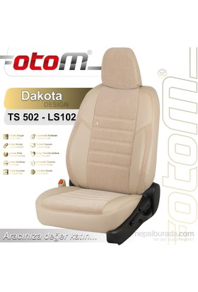 Otom Hyundaı H1 6 Kişi 2008-Sonrası Dakota Design Araca Özel Deri Koltuk Kılıfı Kırık Beyaz-108