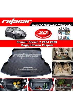 Renault Scenic 2 2004 2009 Bagaj Havuzu Paspası BG0321