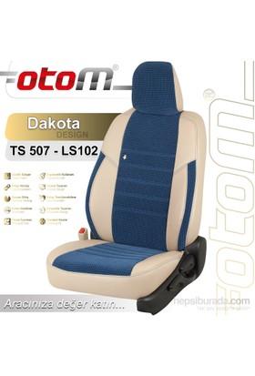 Otom Toyota Verso 7 Kişi 2004-2009 Dakota Design Araca Özel Deri Koltuk Kılıfı Gri-109