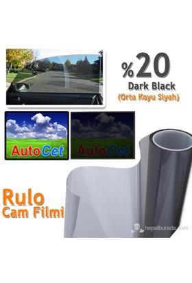 AutoCet 50 cm 6 MT Cam Filmi Koyu Siyah %20 D.Black (25355)