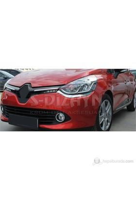 S-Dizayn Renault Clio-4 Far Alt Çıta 2 Prç P.çelik (2012>)