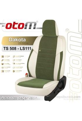 Otom V.W. Transporter T-5 2+1 Panelvan 2004-2014 Dakota Design Araca Özel Deri Koltuk Kılıfı Yeşil-101
