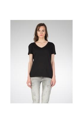 Colin's Siyah Kadın Kısa Kol T-Shirt