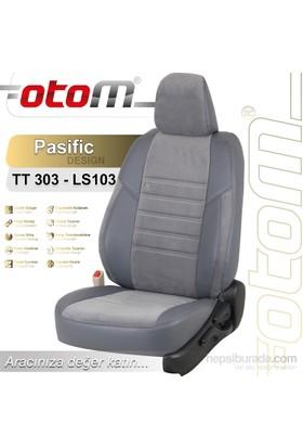 Otom Toyota Verso 7 Kişi 2004-2009 Pasific Design Araca Özel Deri Koltuk Kılıfı Füme-104