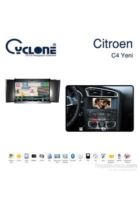 Cyclone CITROEN C4 2012 DVD ve Multimedya Sistemi (Orj. Anten ve Kamera Hediyeli)