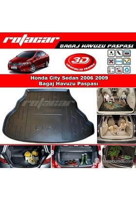 Honda City Sedan 2006 2009 Bagaj Havuzu Paspası BG074