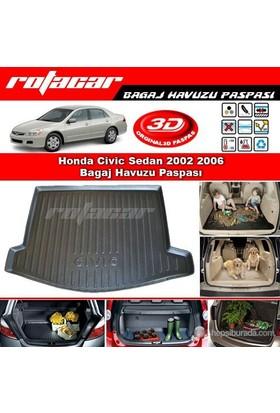 Honda Civic Sedan 2002 2006 Bagaj Havuzu Paspası BG080