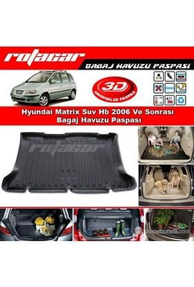 Hyundai Matrix Suv Hb 2006 Ve Sonrası Bagaj Havuzu Paspası BG085