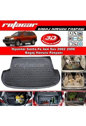 Hyundai Santa Fe 4x4 Suv 2002 2006 Bagaj Havuzu Paspası BG091