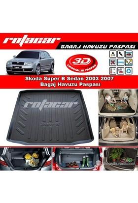 Skoda Super B Sedan 2003 2007 Bagaj Havuzu Paspası BG0168