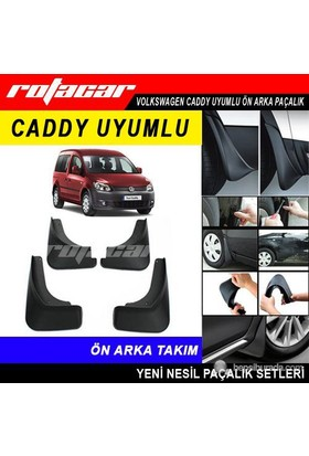 Volkswagen Caddy Ön Arka Paçalık Seti Rt58478